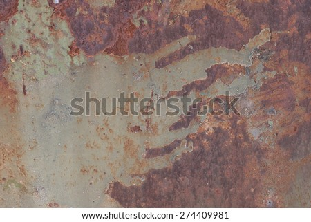 background texture of rusty metal grunge - stock photo