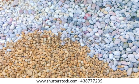 Pebbles smoothed stock photos royalty free images for Smooth stones for landscaping