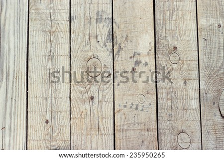 background texture of the boards on the floor - stock photo