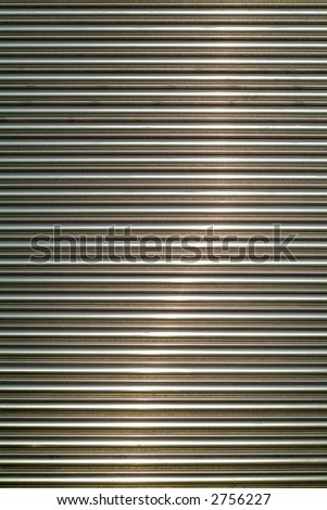 background texture roller shutter - stock photo