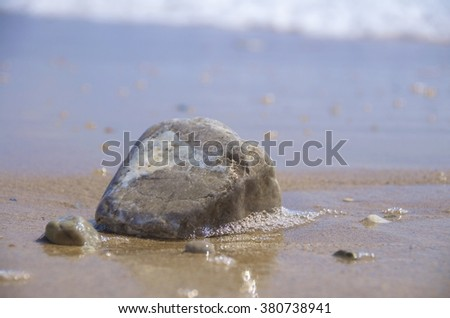 Background, texture, sand texture, water texture