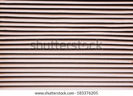 background texture stripes from an old shutter - stock photo