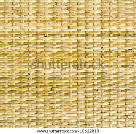 Background texture using details of woven basket