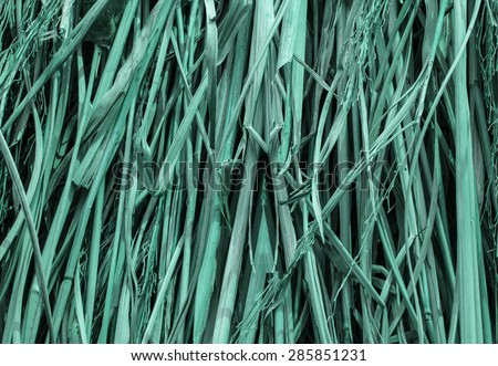 Background textured pattern straw. - stock photo