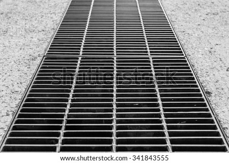 Background vent grid - stock photo