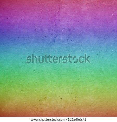 Background wall Rainbow - stock photo