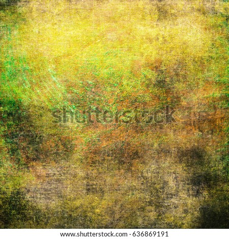 Background Beautiful Shades Green Grunge Wall Stock Illustration ...