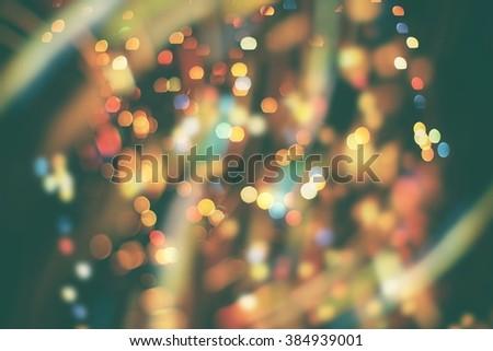 Background With Blinking Stars - stock photo