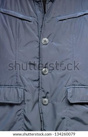Background with blue elegant jacket - stock photo