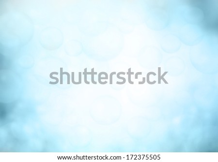 background with bokeh defocused blue lights  - stock photo