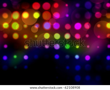 BACKGROUND WITH CIRCLES - stock photo