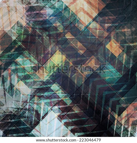 background with color abstract pattern design - stock photo