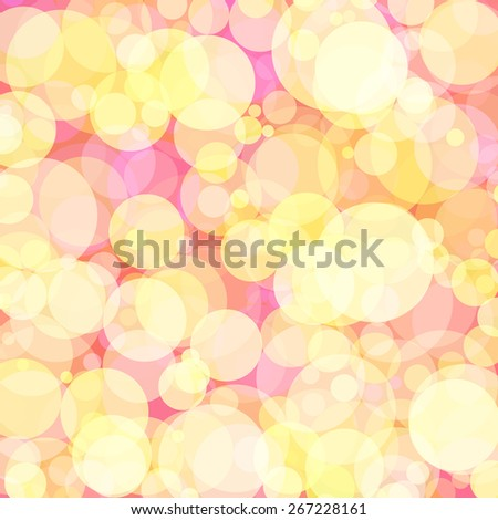 Background with colored circles. Raster 9  - stock photo