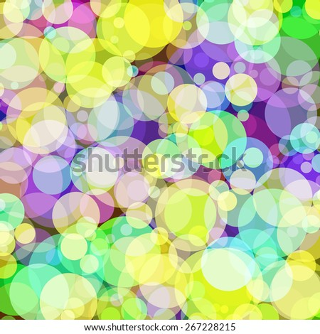 Background with colored circles. Raster 11  - stock photo