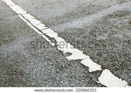 background with cracked road texture.