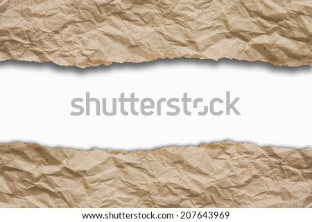 background with crumpled paper