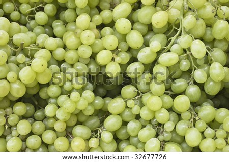 background with green grape