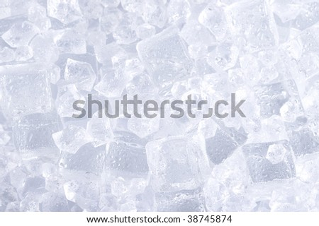 Background with ice - stock photo