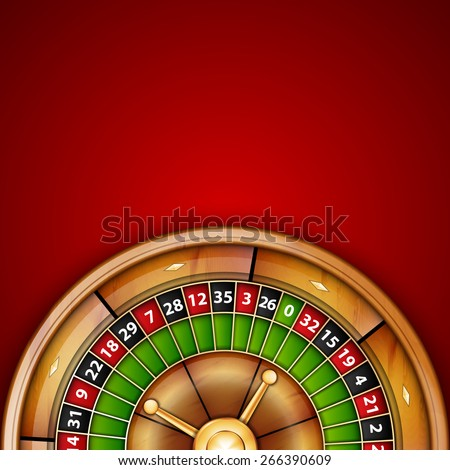 Background with roulette