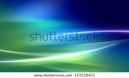 Background With Soft Waves - stock photo