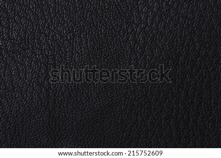 Background with texture of black leather. Close up.
