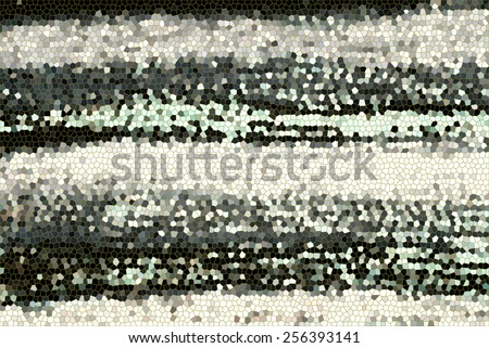 Background with tie dye fabric mosaic.  - stock photo