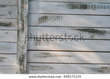 Background wooden white boards