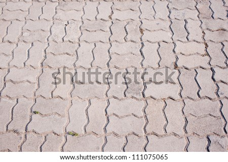 backgrounds of stone walk way
