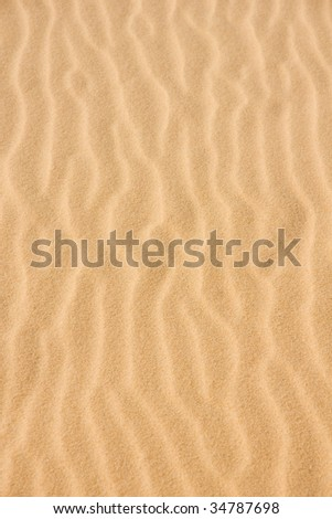 backgrounds of the white sandy dunes in vietnam - stock photo
