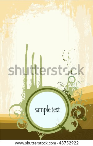 Backgrounds on abstract and grunge elements with blank space for sample text. - stock photo