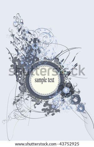 Backgrounds on abstract and grunge elements with space for text. - stock photo