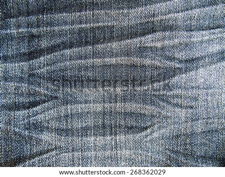 backgrounds texture old jeans fashion  - stock photo