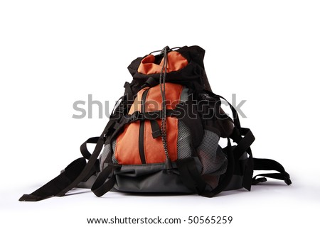 backpack - stock photo