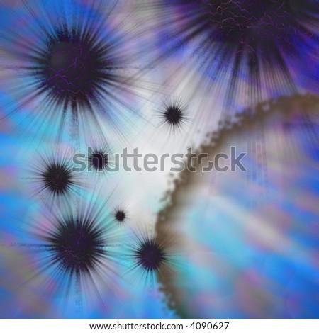 Bacteria, spores, germs, disease - stock photo