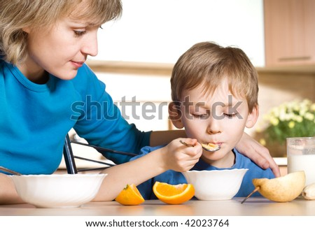 Bad appetite - stock photo