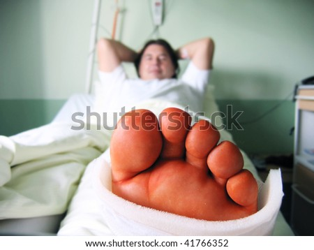 bad day - stock photo