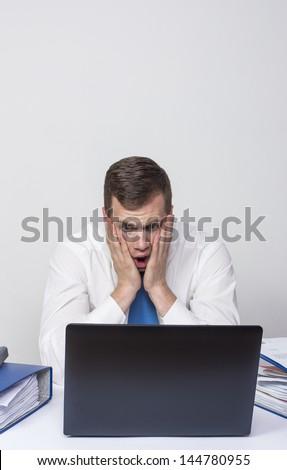 Bad News!! - stock photo