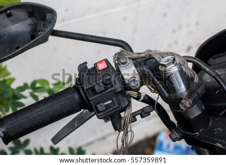 Bad security controls of the motorcycle.