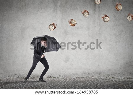 Bad Time - stock photo