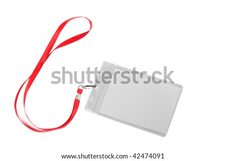 Badge - stock photo