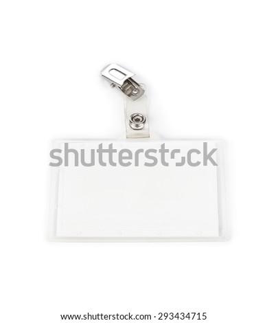 Badge isolated on white background - stock photo