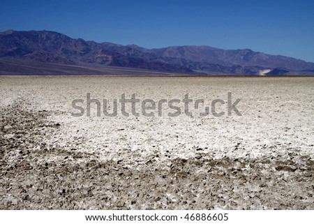 Badwater at Death Valley