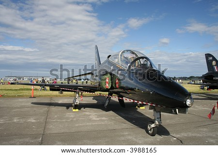 BAE Hawk jet plane - stock photo