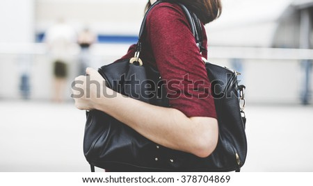Bag Casual Activity Chilling Outdoor City Concept