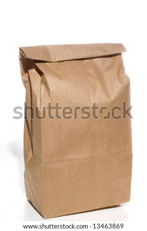 Bag Lunch - stock photo