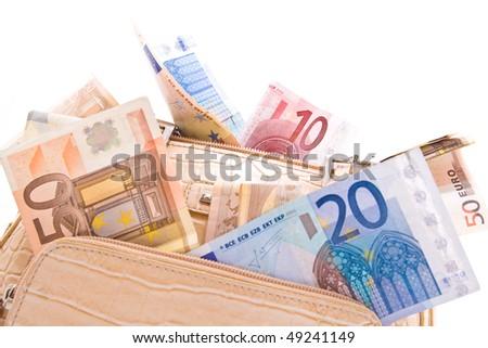 bag money - stock photo