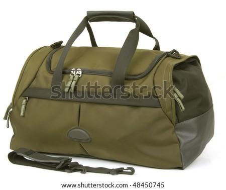 Bag on white background - stock photo
