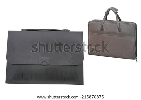 bag under the white background