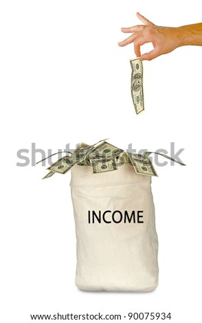 Bag with income