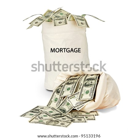 Bag with mortgage